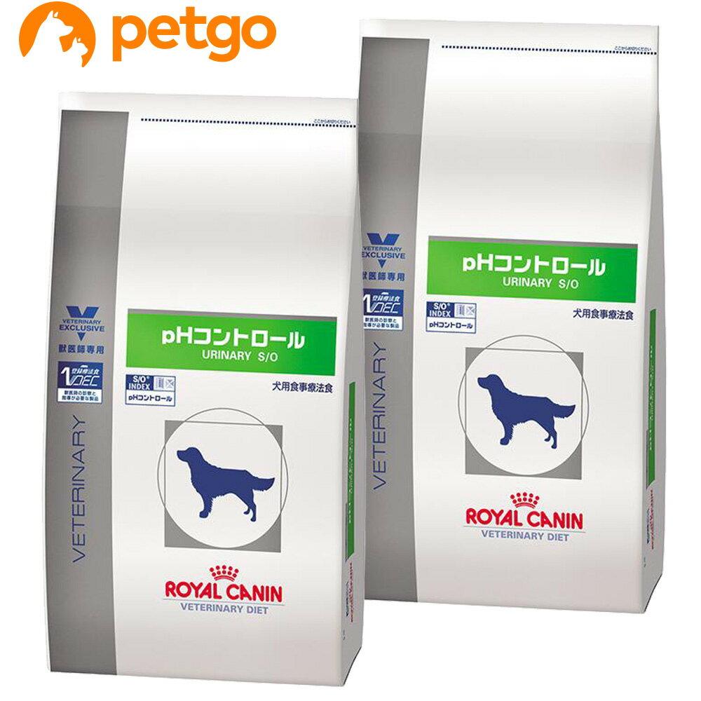 【エントリーでP3倍】【2袋セット】ロイヤルカナン 食事療法食 犬用 pHコントロール ドライ 3kg【あす楽】