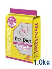 ドクターズダイエット 猫用キティジュニアエイド 1.0kg(幼猫用)