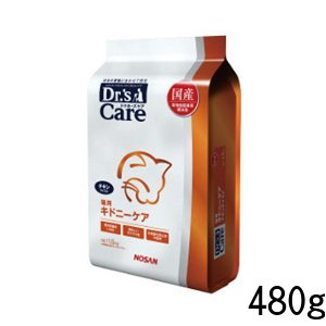 ドクターズケア キドニーケア・チキンテイスト ドライ 猫用 480g (120g×4) 腎臓 猫 ペット 療法食