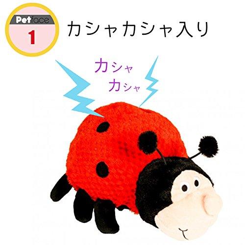 【ペットフェース  (Petface) 】 リンディー レディーバグ ドッグトーイ S
