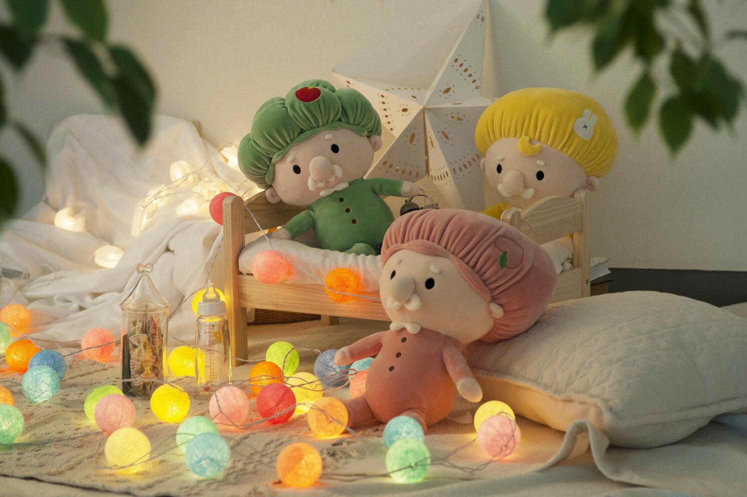【小泉ライフテックス】 夢のおじさんたち おじぐるみ 森のおじさん ぬいぐるみ 人形