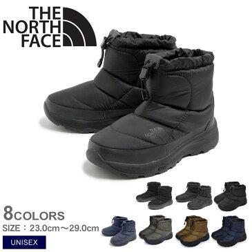 【ザ ノースフェイス】 THE NORTH FACE ブーツ スノーブーツ レディース ヌプシブーティー ウォータープルーフ VI ショート NUPTSE BOOTIE WP6 SHORT NF51874 保温 雨 雪 あったか 送料無料 ショートブーツ