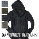 BAREFOOT DREAMS ベアフットドリームス メンズ 544 ベアフット フーディー パーカー 雑誌掲載 ロンハーマン【あす楽対応】