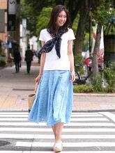 CPSHADES/シーピーシェイズ/ミモレ丈/スカート/リネン/ロングスカート/レディース/Aラインシーピーシェイド/ボリュームスカート