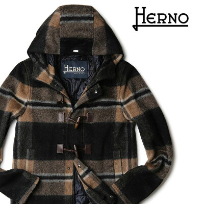 HERNO(ヘルノ) ショート丈 ダッフルコート