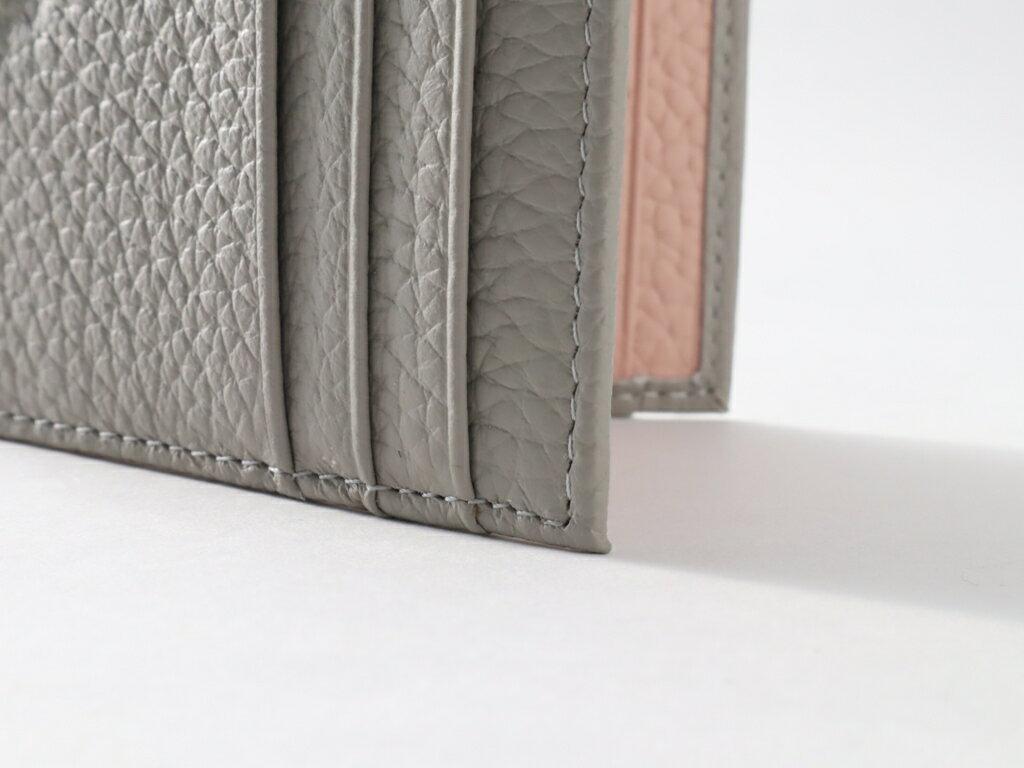 【カードケース】レザーカードケース スリム 薄型 かわいい おしゃれ レディース 革 レザー ポイントカード ギフト【レザー】