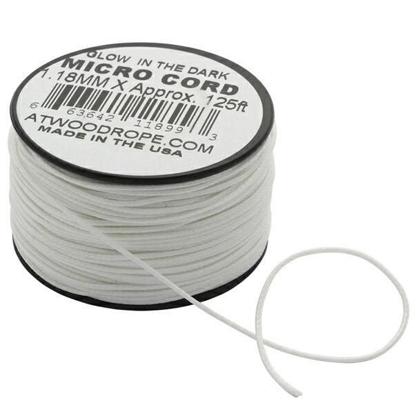 アトウッドロープ ATWOOD ROPE マイクロコード ウーバーグロー 1.18mm/38m [44009][8/6 13:59まで ポイント2倍]