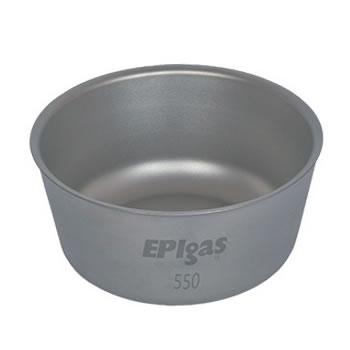 EPIガス ダブルウォールチタンボウル550