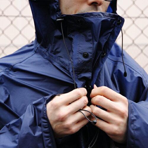 フェアウェザー FAIRWEATHER Packable Rain Poncho Navy [パッカブルレインポンチョ][雨具][自転車][2018年春夏新作]