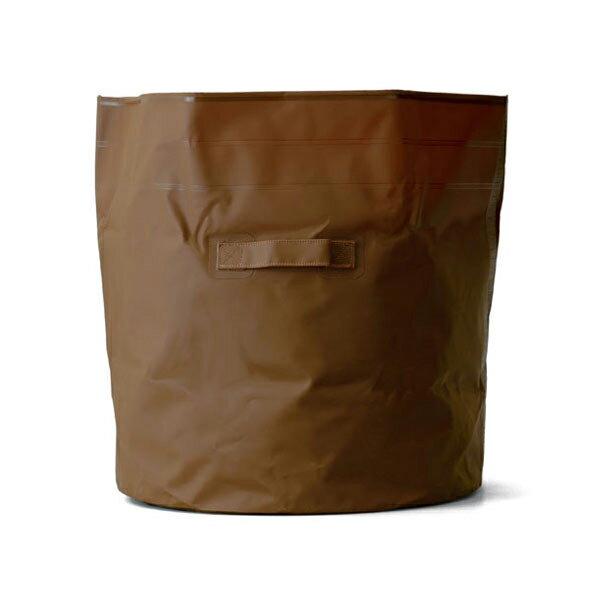 ハイタイド HIGHTIDE タープバッグ ラウンド L ブラウン [収納][荷物運搬][ゴミ箱][ランドリーバッグ]