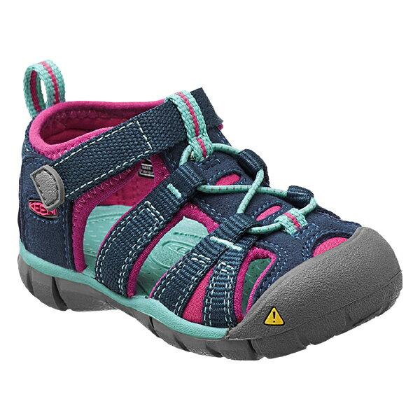 靴, サンダル  KEEN Tots Seacamp II CNX PoseidonVeryBerry 21014117