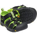 キーン KEEN Tots Newport H2 Black/Lime Green [ベビー/キッズ][11.5〜14.5cm][1021491] 1
