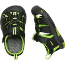 キーン KEEN Tots Newport H2 Black/Lime Green [ベビー/キッズ][11.5〜14.5cm][1021491] 2