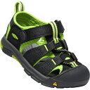 キーン KEEN Tots Newport H2 Black/Lime Green [ベビー/キッズ][11.5〜14.5cm][1021491] 3