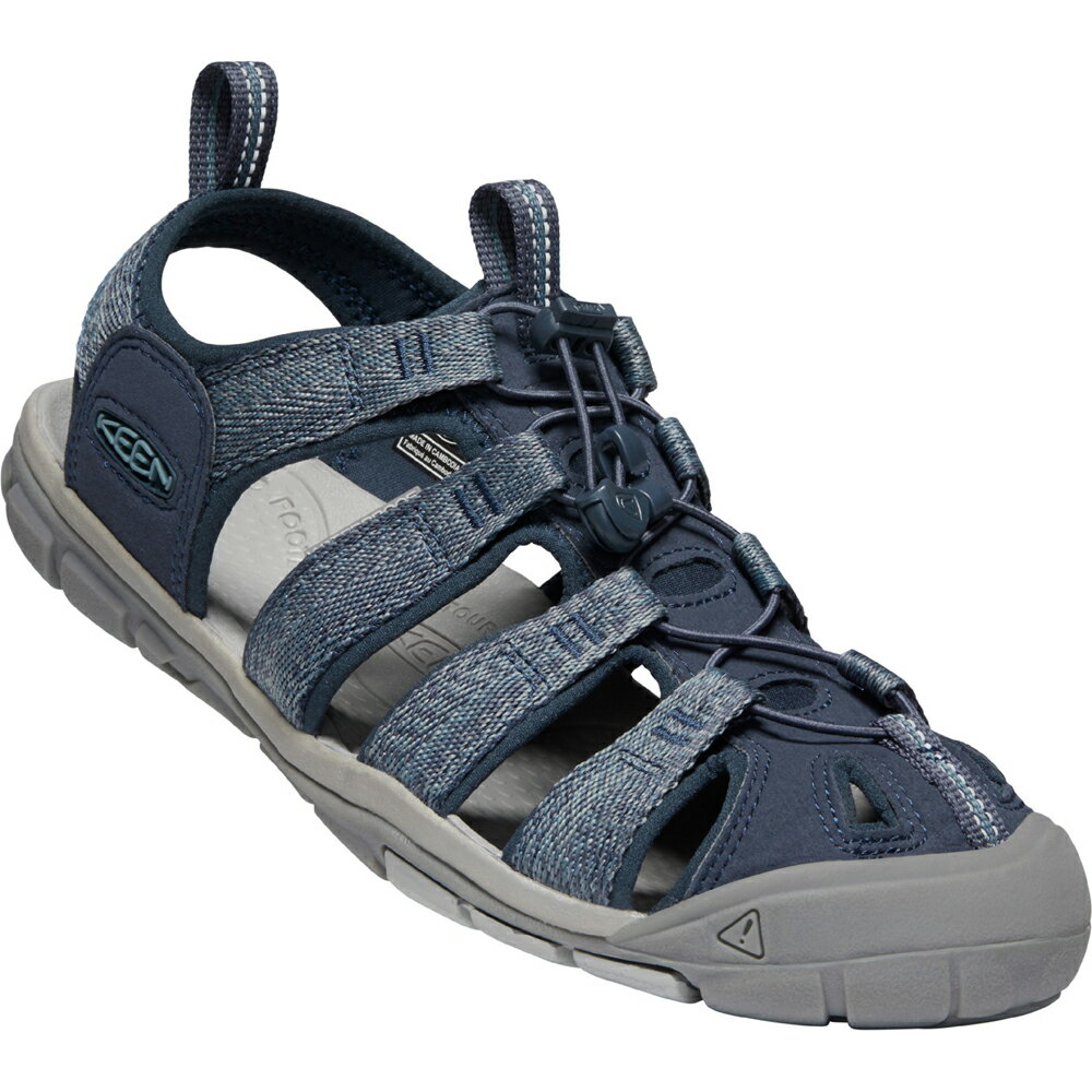 【vic2セール】 キーン KEEN Mens Clearwater CNX Blue/Steel Grey [1022962][2020年新作]画像