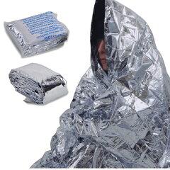 保温シート 防災 備蓄 エマージェンシー ブランケット 防水、防風効果に優れており、毛布3枚分...