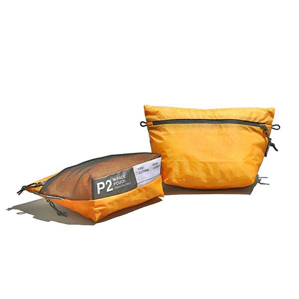 【あす楽対応 平日13:00まで】 パーゴワークス PaaGoWORKS W-FACE ポーチ 2 オレンジ [US002ORN][2020年新作]画像