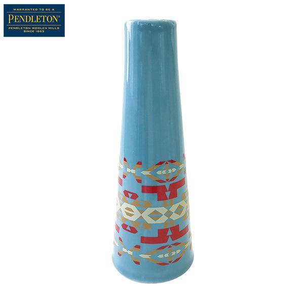 ペンドルトン PENDLETON オリジナルフラワーベース リトルリバーターコイズ [波佐見焼][花瓶][5/9 9:59まで ポイント2倍]