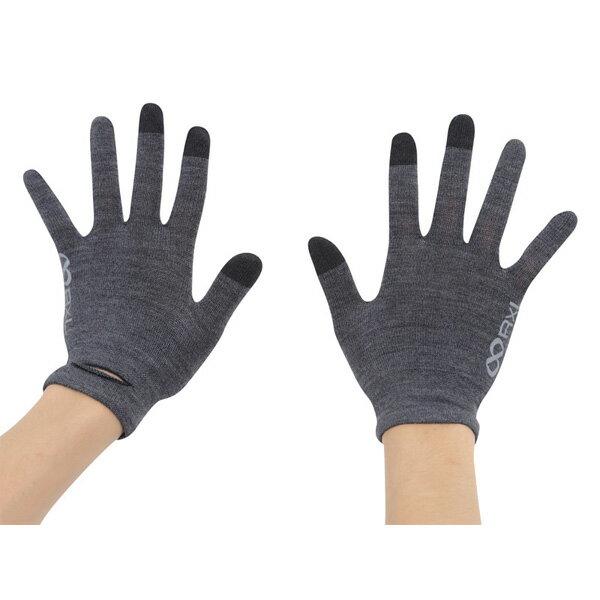 アールエル RxL TRG-102 チャコール [手袋][グローブ][メリノウール][アウター][インナー][8/10 13:59まで ポイント3倍]