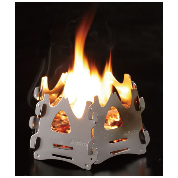 SOTO ソト 新富士バーナー 焚き火台 ヘキサ [コンパクト][焚き火][ST-942]