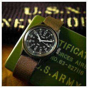 TIMEXタイメックスTheOriginalCamperブラック/グリーン