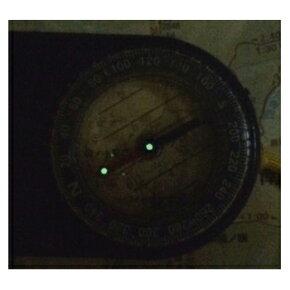 YCMコンパスポケットコンパスNo.LED01R