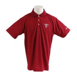 トランスコンチネンツ(TRANS CONTINENTS) ウェア メンズ ワッフルボーダー 半袖ポロシャツ 19STRZ08-RD オンライン価格 (メンズ)