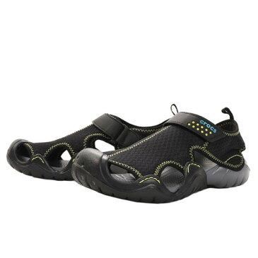 クロックス(crocs) Swiftwater Sdl Bk #15041-070-2019 (Men's)