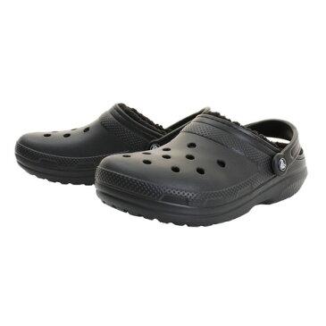 クロックス(crocs) クラシック ラインド クロッグ (Classic Fuzz-Lined Clog) Blk 203591-060-2018 (Men's)