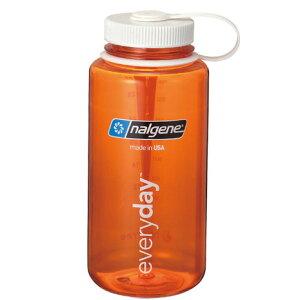 ナルゲン(nalgene) 広口1.0L Tritan オレンジ 91317 水筒 ボトル (Men's、Lady's)