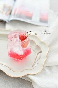グラスコップガラスオーロラグラスおしゃれタンブラージュエルグラス