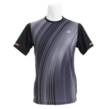 【20日限定!最大5倍!エントリー要】ニューバランス(new balance) Tシャツ メンズ 【多少の傷汚れありの為大奉仕】NB ICE v2 グラフィック半袖Tシャツ AMT81201BK (Men's)