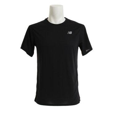 【20日限定!最大5倍!エントリー要】ニューバランス(new balance) Tシャツ メンズ アクセレレイトショートスリーブTシャツ AMT73061BK オンライン価格 (Men's)