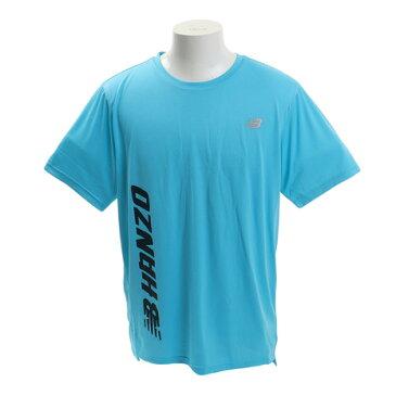 【20日限定!最大5倍!エントリー要】ニューバランス(new balance) Tシャツ メンズ Hanzo プリントショートスリーブTシャツ AMT93181BYS オンライン価格 (Men's)