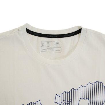 【20日限定!最大5倍!エントリー要】ニューバランス(new balance) ヘザーテックグラフィックTシャツ AMT81082WT オンライン価格 (Men's)