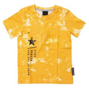 リーボック(REEBOK) 【多少の汚れ等訳あり大奉仕】ボーイズ REボーイズ K 総柄Tシャツ AOP NPW29-BK4452 (Jr)