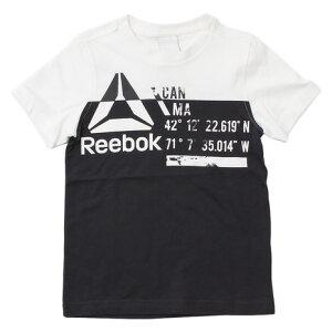 【7月15日限定!P10倍〜】リーボック(REEBOK) 【多少の汚れ等訳あり大奉仕】ボーイズ WOR CO 切替 Tシャツ MLI34-BK4421 (Jr)