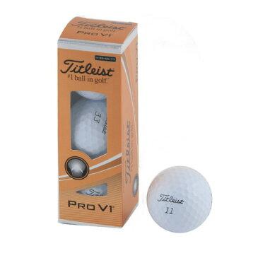 タイトリスト(TITLEIST) PRO V1 17 DOUBLEPLAY ダブルナンバー3個入ゴルフボール (ゴルフボール) T2025S-3PLEJ (Men's)