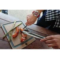 VICTORINOX(ビクトリノックス)公式ステーキナイフ2本セットストレート・波刃(ウッド)スイスモダン刃渡り12cm[日本正規品保証付]包丁ナイフ木アウトドアキッチンキャンプよく切れるバーベキューBBQ