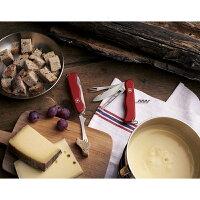 VICTORINOX(ビクトリノックス)公式チーズマスターチーズナイフフォンデュフォーク保証書付0.8313.W【日本正規品】レジャーアウトドアナイフサバイバルナイフスイスマルチツール・十徳ナイフ