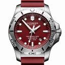 【公式】ビクトリノックス VICTORINOX I.N.O.X. イノックス プロフェッショナルダイバー (レッド) 241736【日本正規品 保証書付】時計 腕時計 メンズ ダイバーズウォッチ ダイバーウォッチ 防水 ラバー ベルト ブランド 人気 スイス製