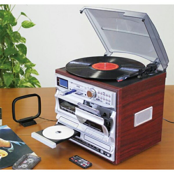 Bearmax マルチ・オーディオ・レコーダー/プレーヤー MA-811 思い出のレコードもデジタル音源もマルチに録音・再生!