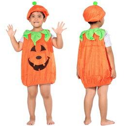 FJK パンプキン(かぼちゃ衣装) 帽子 セット キッズサイズ FJK9354728030 【RCP】【AS】送料込みで販売!