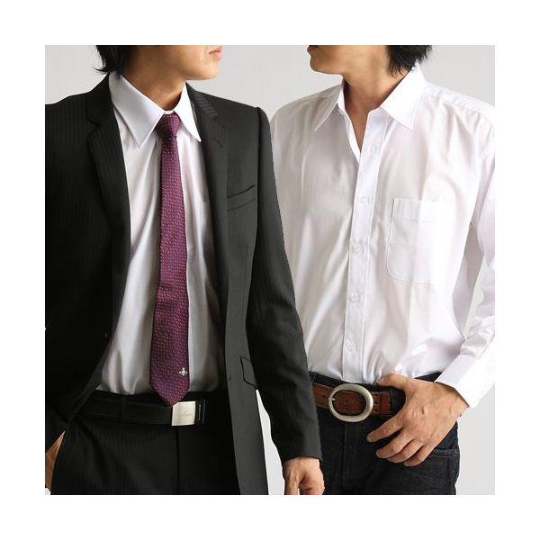【ポイント2倍】百貨店取り扱いメーカー ホワイトワイシャツ ホワイト Mサイズ