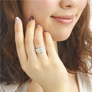 0.6ctダイヤモンドワイドパヴェリング21号【DS】送料込!【前払・同梱・ラッピング】