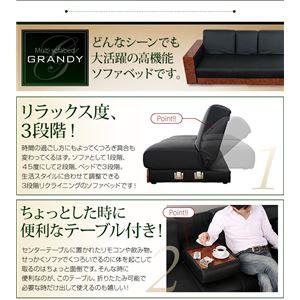 ソファーベッドマルチソファベッド【GRANDY】グランディスツールタイプ