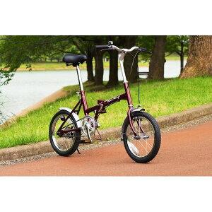 折畳み自転車 ClaSSic Mimugo FDB16 MG-CM16【】 送料込! 「クラシックミムゴ」の16インチ折畳み自転車!