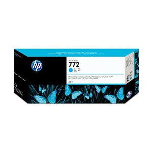 (まとめ)HP772インクカートリッジシアン300ml顔料系CN636A1個【×3セット】送料無料!