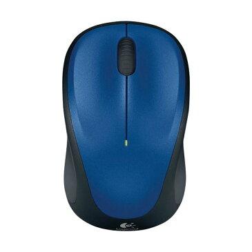 (まとめ) ロジクール Wireless Mouse ブルー M235RBL 1個 【×2セット】 送料込!