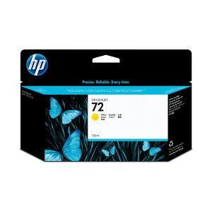 (まとめ)HP72インクカートリッジイエロー130ml染料系C9373A1個【×3セット】送料無料!